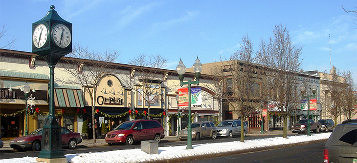 Downtown Plymouth Michigan - masthead image