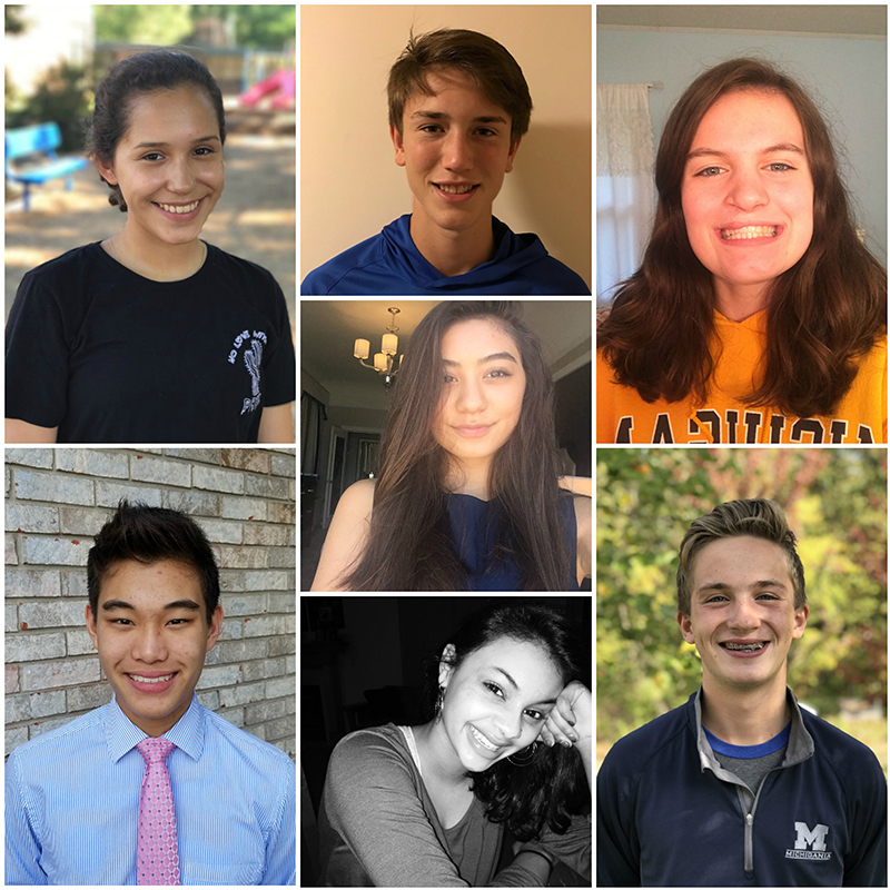 New 2017-18 Youth Council Members